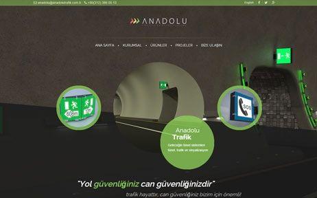 anadolu trafik, web tasarım