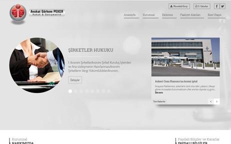 web tasarım, Av. Görkem Peker