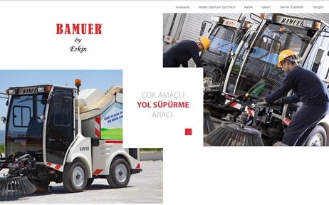 web tasarım, Bamuer By Erkin