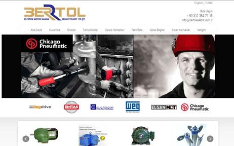 web tasarım, Bertol Elektrik