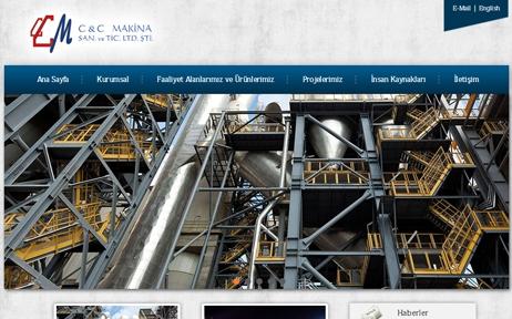 web tasarım, CCMakina