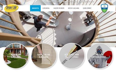 web tasarım, Clean Life