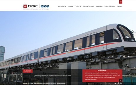crrc mng, web tasarım