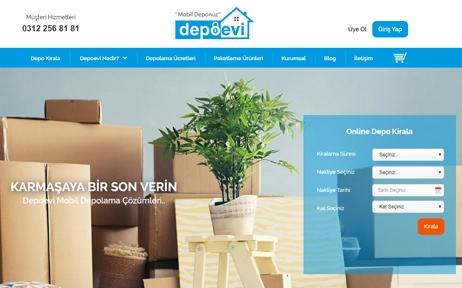 web tasarım, Depoevi