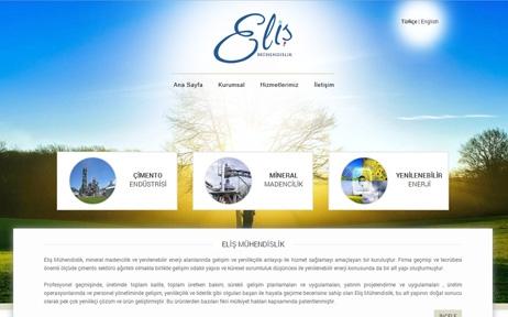 web tasarım, Eliş Mühendislik