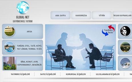 web tasarım, Global Net Yatırım