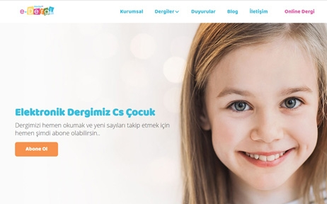 hedef cs dergi, web tasarım