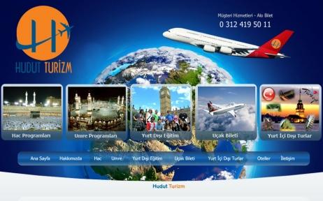 web tasarım, Hudut Turizm