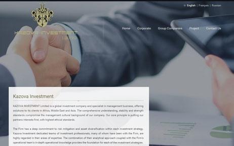 web tasarım, Kazova Yapı