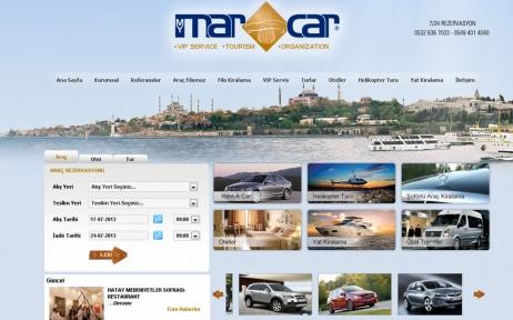 web tasarım, Marcarrent Vip Service Tourism