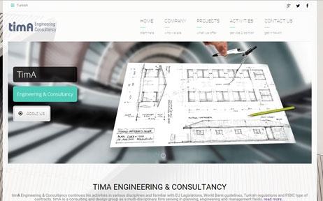 web tasarım, Tima Engineering
