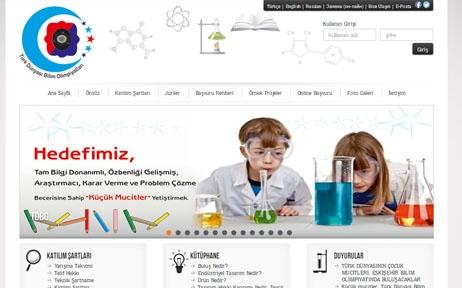 web tasarım, Türk Dünyası Bilim Olimpiyatları