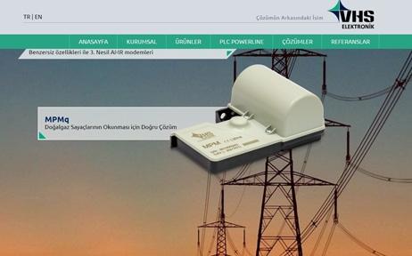 web tasarım, Vhs Elektronik